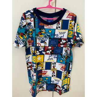 Disney - 【キッズ】ミッキーとドナルド 柄Tシャツ
