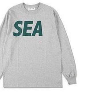 SEA - wind and sea l/s ロンt tee シャツ