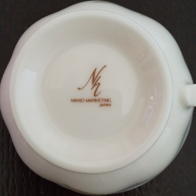 NIKKO(ニッコー)のニッコー コーヒーカップ&ソーサー 2客 インテリア/住まい/日用品のキッチン/食器(グラス/カップ)の商品写真