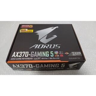 美品 AORUS AX370-GAMING 5 最新BIOS更新済み 付属品あり(PCパーツ)