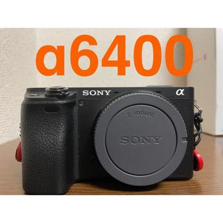 ソニー(SONY)のα6400本体のみ ILCE-6400M ブラック(ミラーレス一眼)