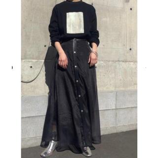 Ameri VINTAGE - 未使用 &g'aime シアーレイヤードスカート