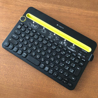 ロジクール  マルチデバイスキーボード K480(PC周辺機器)
