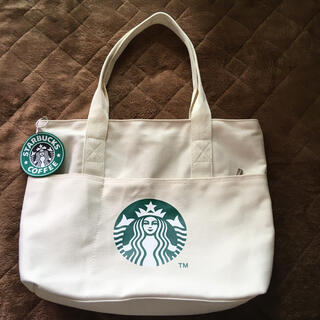 Starbucks Coffee - ☆新品 未使用 人気 スタバ トートバッグ☆
