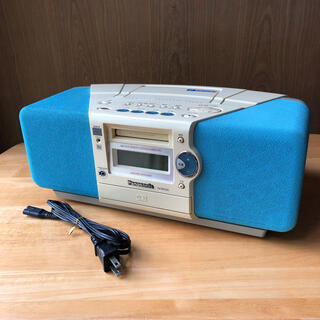 Panasonic - パナソニック CD/MDプレーヤー ラジオ RX-MDX50 【ジャンク】