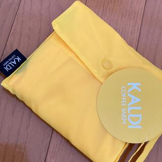 カルディ(KALDI)の新品★カルディ オリジナル エコバッグ★イエロー/KALDI(エコバッグ)