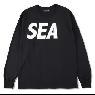 SEA L/S T-SHIRT / Black-White (SEA-04)