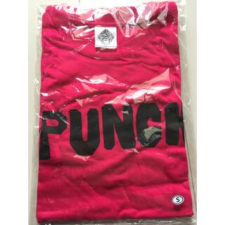 【新品】レア クロマニヨンズ  ツアー Punch Tシャツ S ピンク(ミュージシャン)