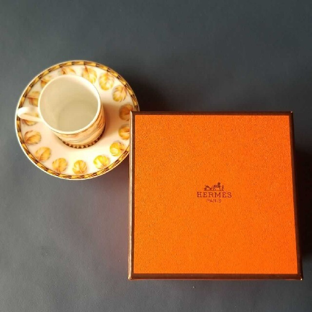 Hermes(エルメス)のHERMES パッチワーク エスプレッソカップ&ソーサー インテリア/住まい/日用品のキッチン/食器(食器)の商品写真