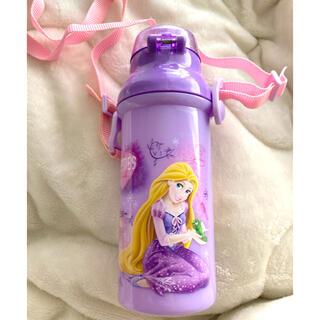 ディズニー(Disney)の水筒 ラプンツェル 直飲 プラスチック ラプンツェル   紐付き (水筒)