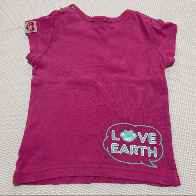 EARTHMAGIC(アースマジック)のアースマジック Tシャツ 90 キッズ/ベビー/マタニティのキッズ服女の子用(90cm~)(Tシャツ/カットソー)の商品写真