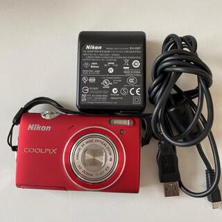 Nikon - Nikon COOLPIX 赤 S5100 ニコンクールピクス デジカメ