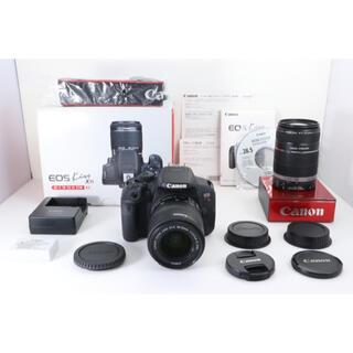 キヤノン(Canon)のCanon EOS Kiss X7i 手ぶれ補正付き望遠Wレンズセット(デジタル一眼)