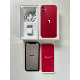 iPhone - iPhone 11 128GB レッド