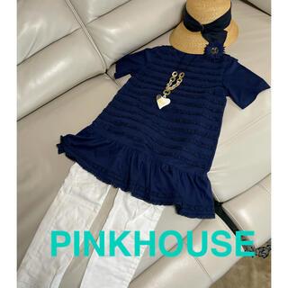 PINK HOUSE - ピンクハウスカットソーチュニック