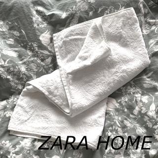 ザラホーム(ZARA HOME)の【ZARA HOME】バスタオル ブランケット(その他)