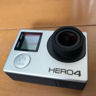 ゴープロ(GoPro)のGOPRO HERO4 SILVER 美品 ゴープロ(コンパクトデジタルカメラ)