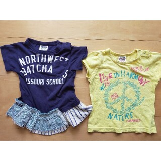 エフオーキッズ(F.O.KIDS)のBREEZE JUNK STORE トップス 半袖Tシャツ 80(Tシャツ)