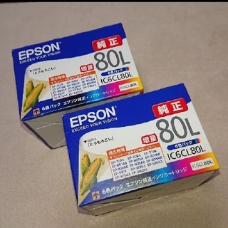 エプソン(EPSON)のEPSON エプソン純正 インクカートリッジ IC6CL80L (オフィス用品一般)