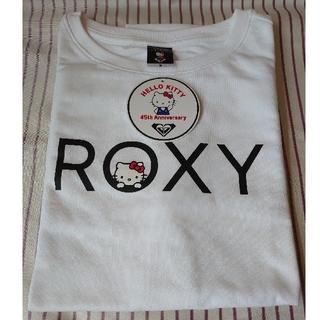 Roxy - ROXY【新品】ハローキティ コラボ Tシャツ ホワイト Mサイズ