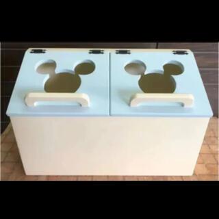 ミッキー風 トイボックス おもちゃ箱 収納
