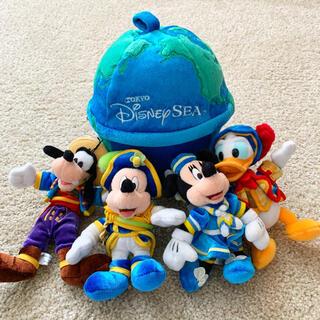 Disney - 東京ディズニー 地球儀ぬいぐるみセット 未使用に近い ② レア
