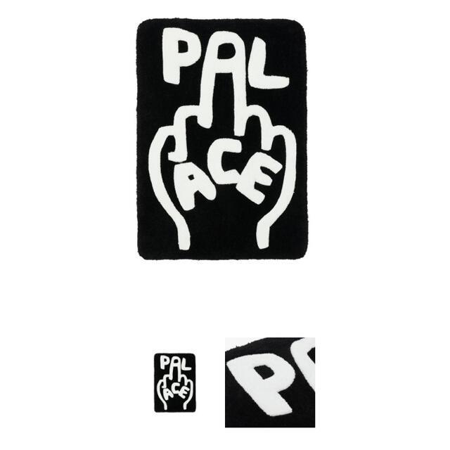 PALACE FINGER UP RUG BLACK  パレス ラグマット 新品 メンズのファッション小物(その他)の商品写真