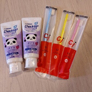 歯みがき粉 歯ブラシセット(歯ブラシ/歯みがき用品)
