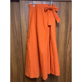 オゾック(OZOC)の新品タグ付き ozoc ロングスカート Mサイズ(ロングスカート)