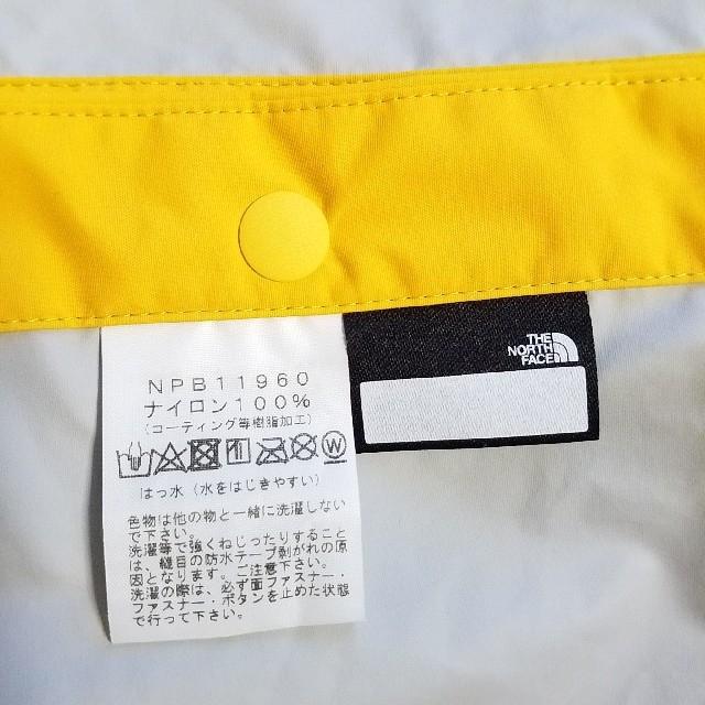 THE NORTH FACE(ザノースフェイス)のノースフェイス キッズ レインポンチョ 90 キッズ/ベビー/マタニティのこども用ファッション小物(レインコート)の商品写真
