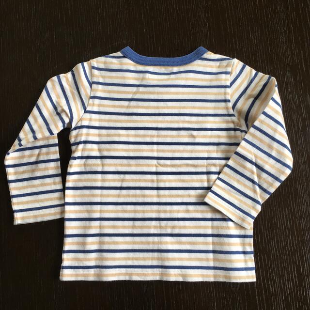 mikihouse(ミキハウス)のミキハウス 男の子長袖Tシャツ(サイズ90) キッズ/ベビー/マタニティのキッズ服男の子用(90cm~)(Tシャツ/カットソー)の商品写真