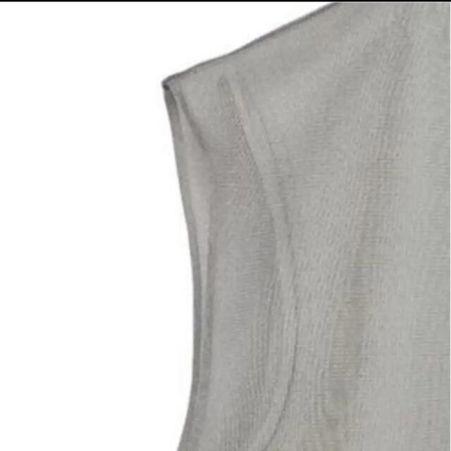Ameri VINTAGE(アメリヴィンテージ)の5分で完売品✨‼️❤️AMERI❤️SWEAT WITH SHEER TOP レディースのトップス(シャツ/ブラウス(半袖/袖なし))の商品写真