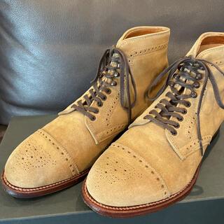 オールデン(Alden)のオールデン 41802H トゥモローランド別注 スエード  US7D  25cm(ブーツ)