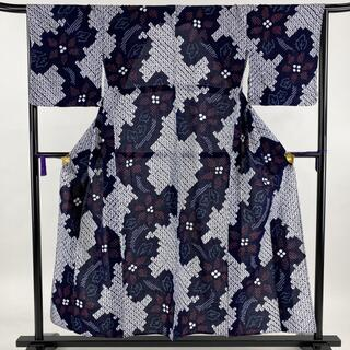 浴衣 優品 身丈152cm 裄丈67.5cm 綿 【中古】(浴衣)