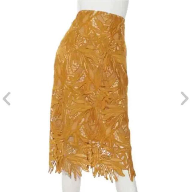 FRAY I.D(フレイアイディー)の新品♡値下げ!フレイアイディー♡ケミカルレースタイトスカート レディースのスカート(ひざ丈スカート)の商品写真