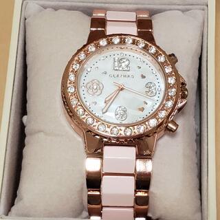 クレイサス(CLATHAS)の新品★プレゼントに★クレイサス★時計★カメリア★キラキラ(腕時計)