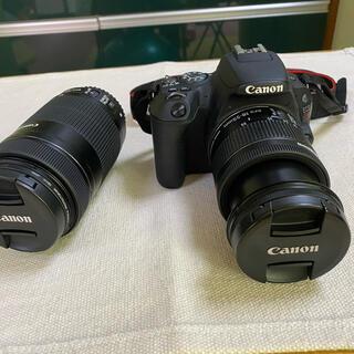 キヤノン(Canon)のCanon EOS KISS X9 Wズームキット BK(デジタル一眼)