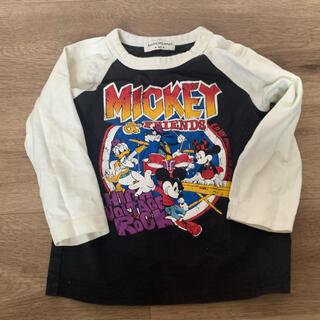 アンパサンド(ampersand)のampersand ミッキー ディズニー ラグラン 90cm(Tシャツ/カットソー)