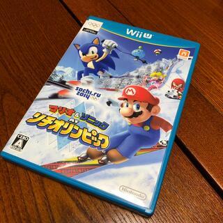 ウィーユー(Wii U)のマリオ&ソニック AT ソチオリンピックTM Wii U(家庭用ゲームソフト)