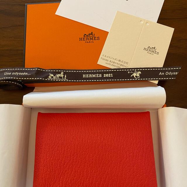 Hermes(エルメス)のエルメス 新品 ガルヴィ ヴェルソ レディースのファッション小物(名刺入れ/定期入れ)の商品写真