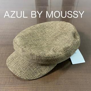 アズールバイマウジー(AZUL by moussy)のキャスケット 帽子 キャップ(キャスケット)