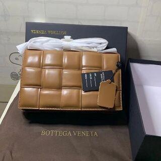 Bottega Veneta - BOTTEGA VENETA カセット ショルダーバッグ キャメル