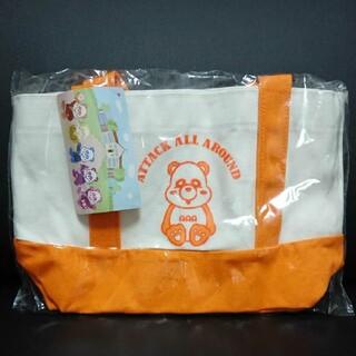 トリプルエー(AAA)のAAA エーパンダ 橙 ランチ トートバッグ 西島隆弘 にっしー(ミュージシャン)
