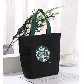 Starbucks Coffee - 【スターバックス海外限定】日本未発売 トートバック エコバッグ 黒色 一点