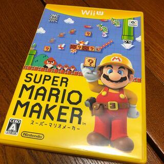 ウィーユー(Wii U)のスーパーマリオメーカー wiiu(家庭用ゲームソフト)