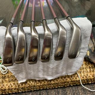 ダンロップ(DUNLOP)のゼクシオ10レディース アイアン6本SET(ゴルフ)