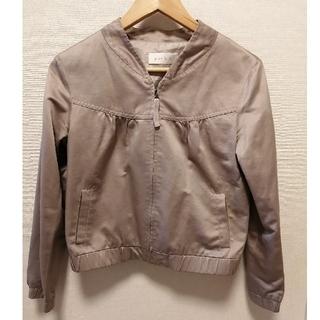 エニィスィス(anySiS)のジャケット レディース ノーカラージャケット anysis (ノーカラージャケット)