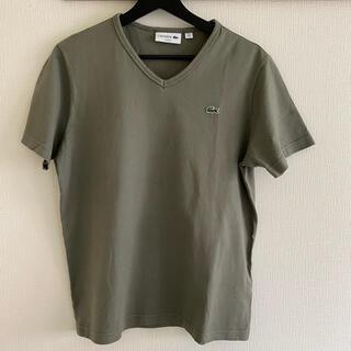 ラコステ(LACOSTE)のラコステ Tシャツ オリーブグリーン(Tシャツ/カットソー(半袖/袖なし))