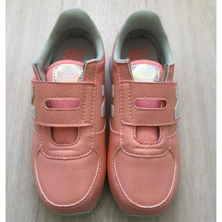 ニューバランス(New Balance)のニューバランス  キッズ靴 子供靴 スニーカー マーメイド ピンク 20センチ(スニーカー)