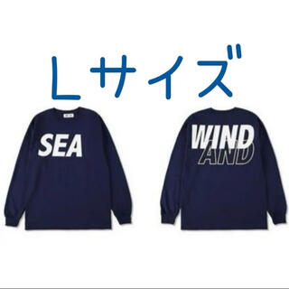 SEA - wind and sea long L/S t-shirts navy Lサイズ